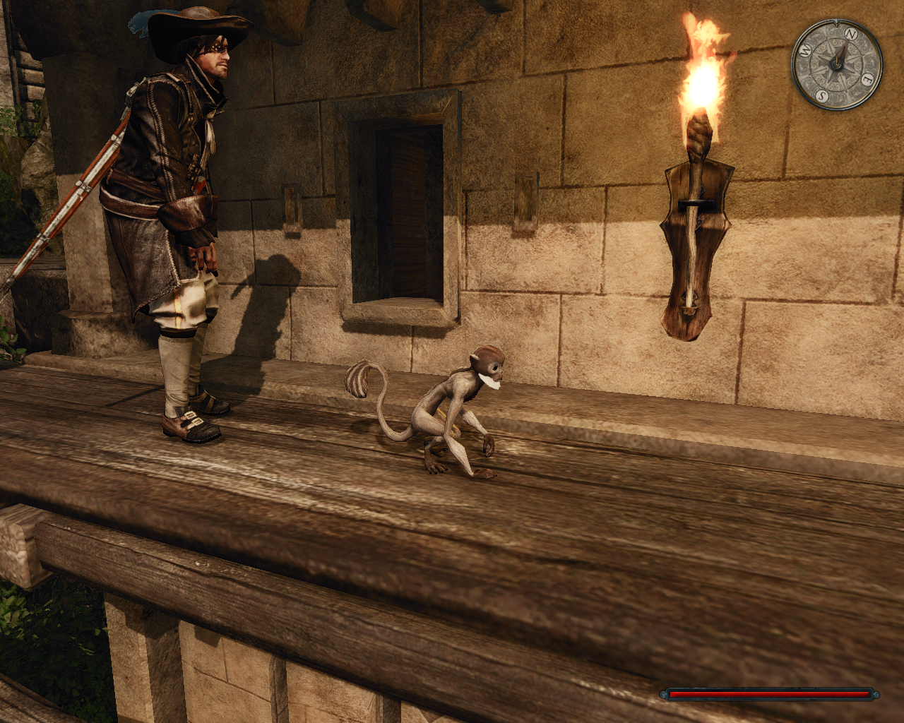 Risen 2: Dark Waters Windows You can buy and control a monkey for those hard-to-reach areas