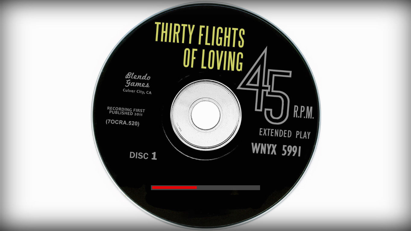 Thirty Flights of Loving Windows Loading screen
