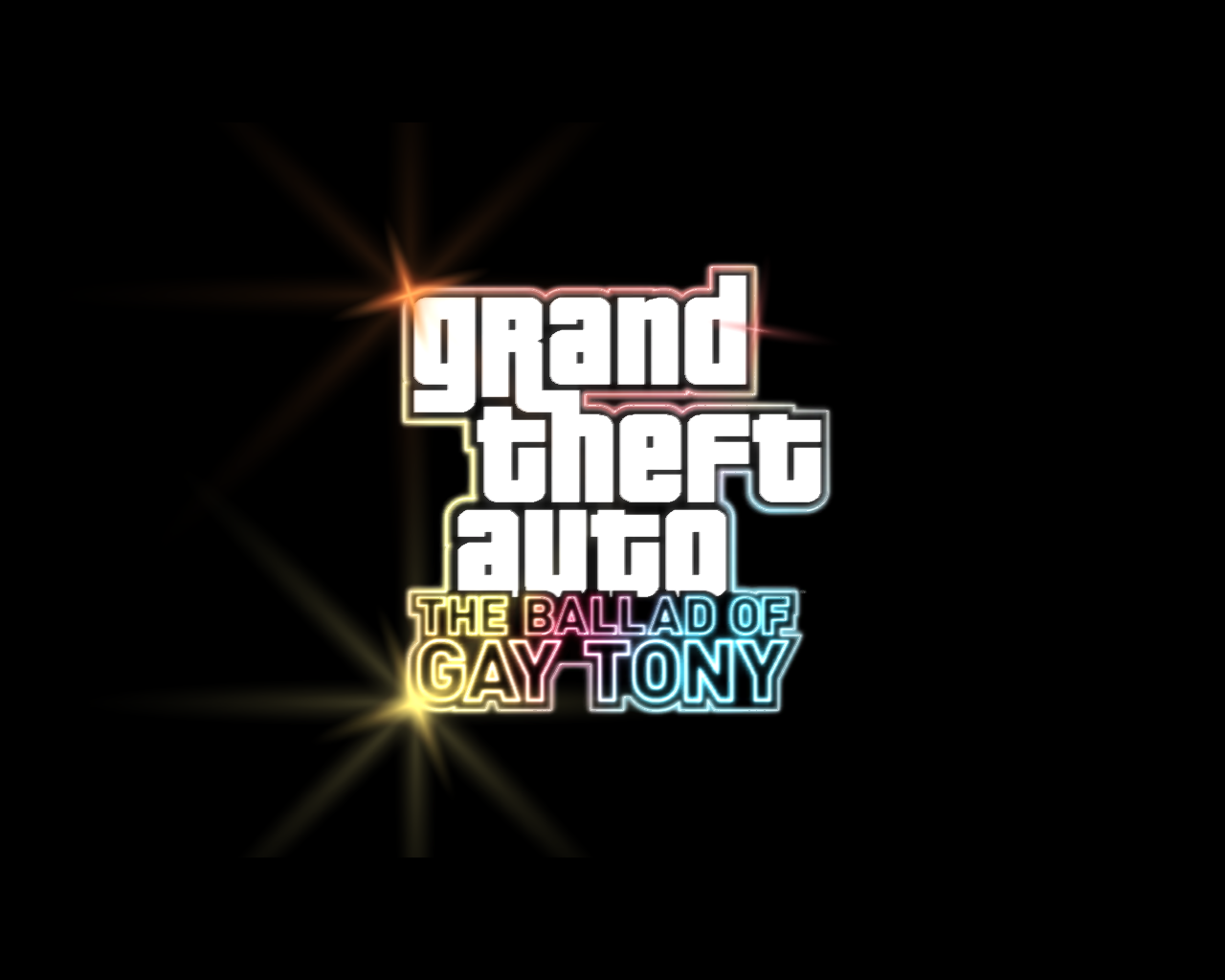Grand Theft Auto: The Ballad of Gay Tony Windows Title screen