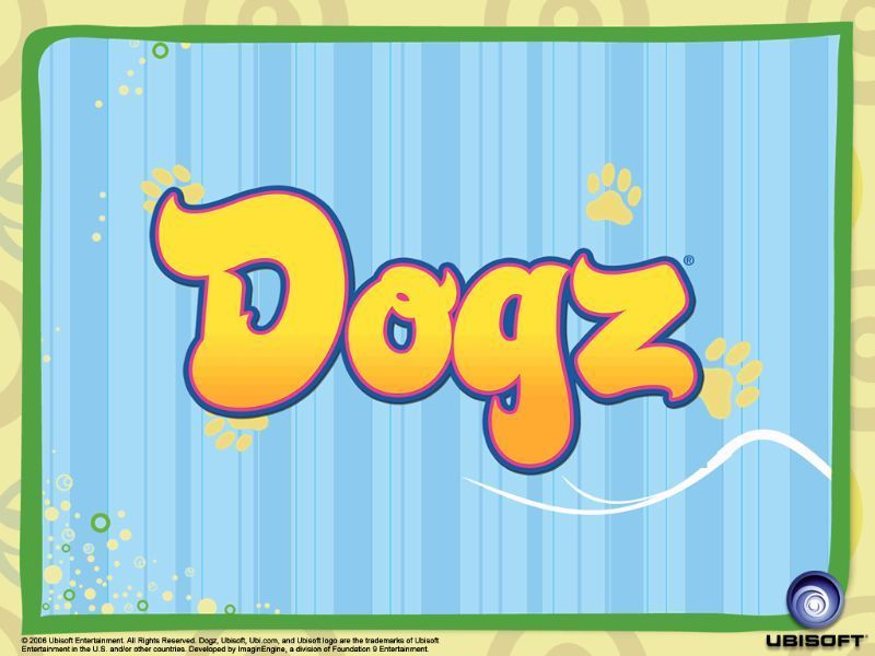 Dogz Windows The game's title screen
