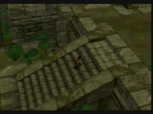 Legaia 2: Duel Saga PlayStation 2 This village was a pain.  There are about 5 people in it and it's huge.