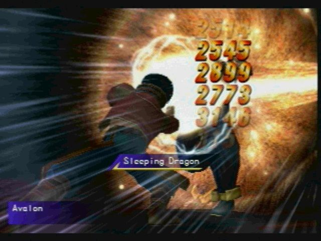 Legaia 2: Duel Saga PlayStation 2 Shank that Tekken wannabe!