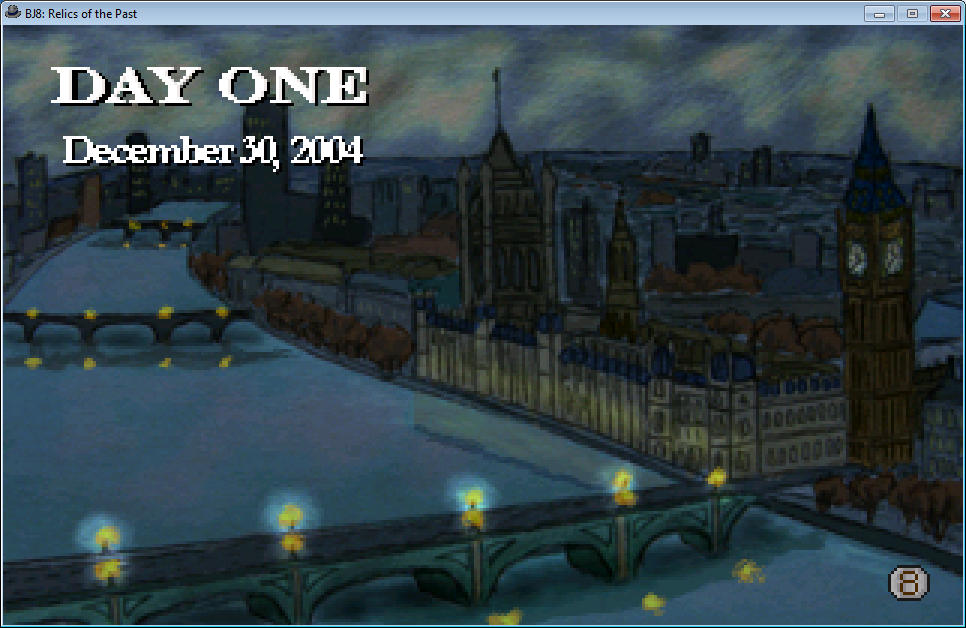 Ben Jordan: Paranormal Investigator Case 8 - Relics of the Past Windows Day One is started in London.