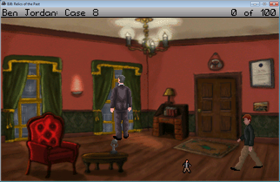 Ben Jordan: Paranormal Investigator Case 8 - Relics of the Past Windows Starting the game in Percy's flat.