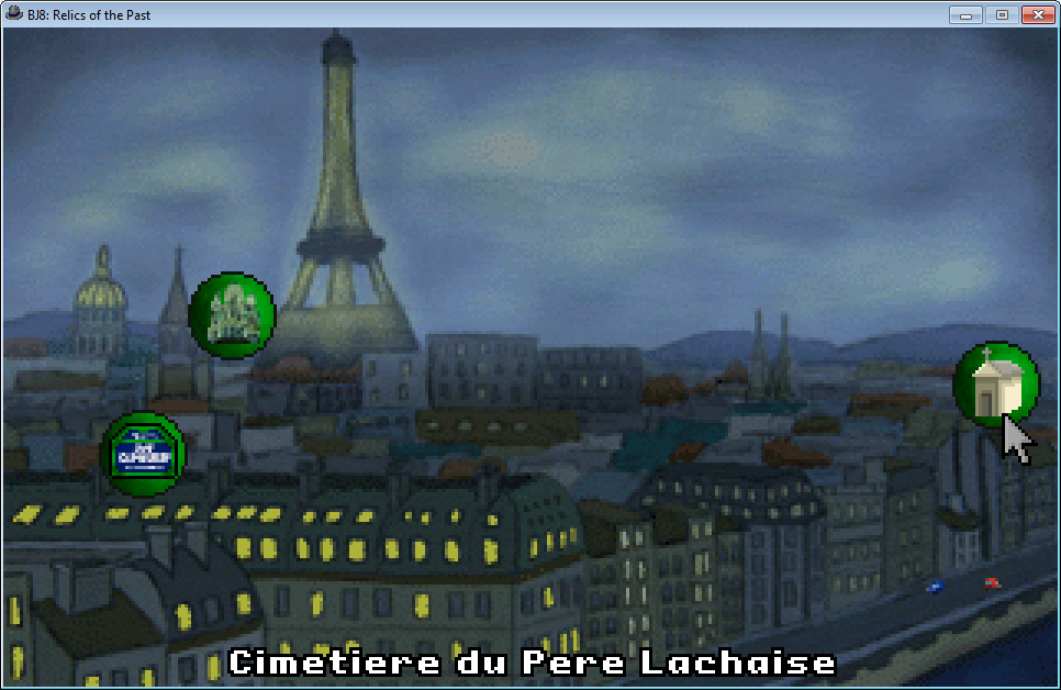 Ben Jordan: Paranormal Investigator Case 8 - Relics of the Past Windows Map of Paris during Day 2