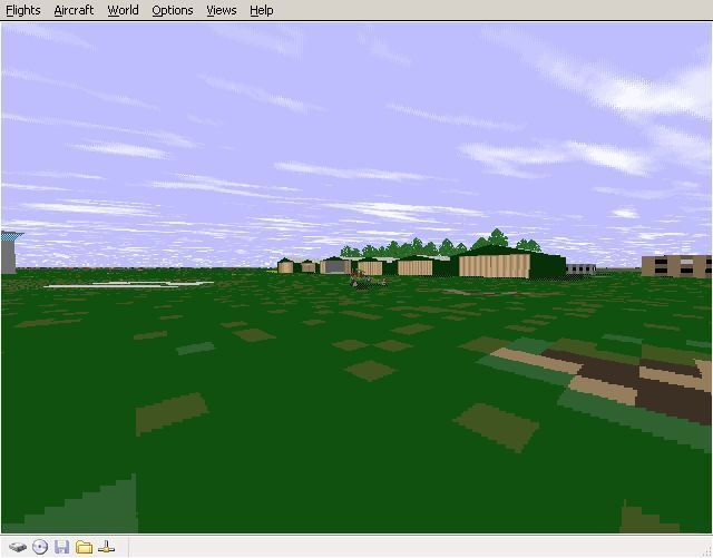 Perfect Flight Deluxe: Great Britain Windows <i>Microsoft Flight Simulator 98</i>. Old Warden airfield has quite a bit of detail.