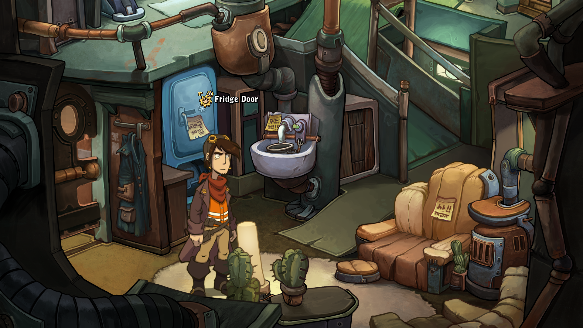 Deponia Windows Rufus in the living room