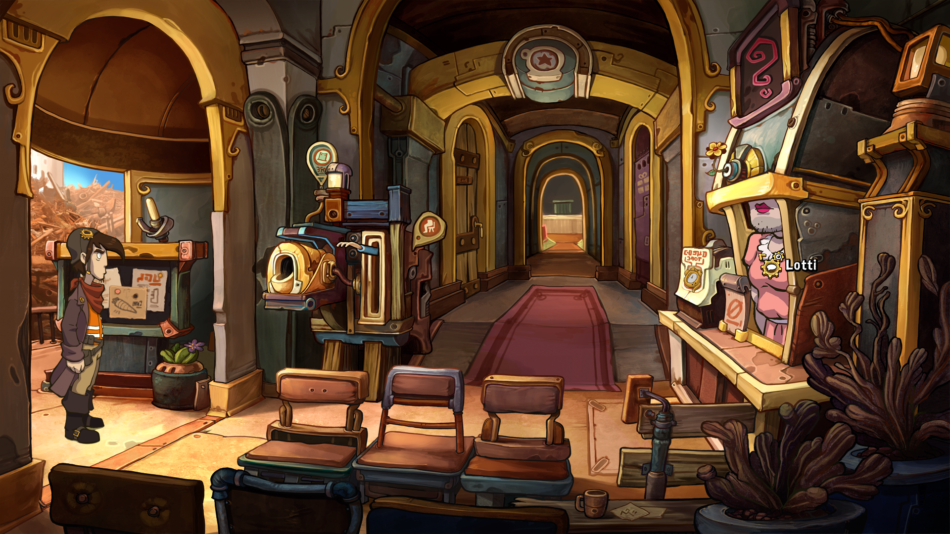 Deponia Windows Town hall