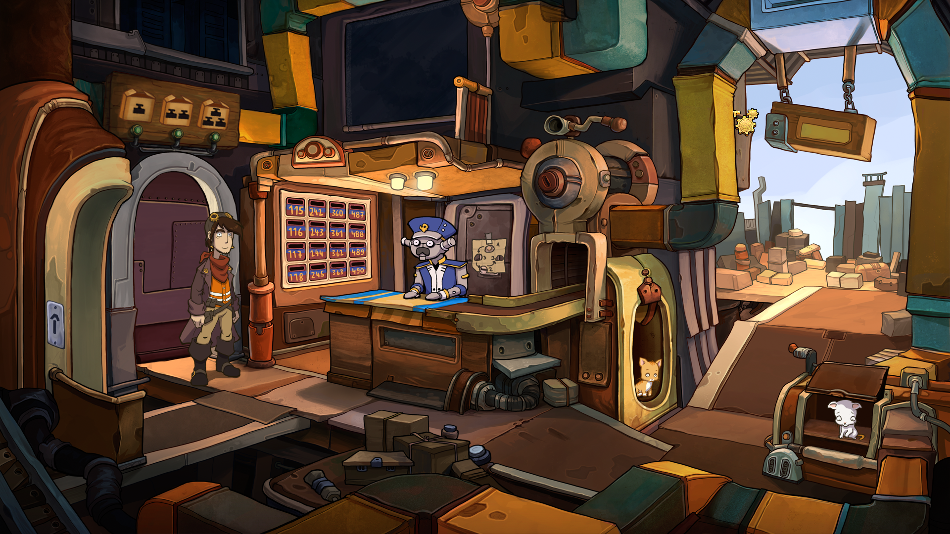 Deponia Windows Post office