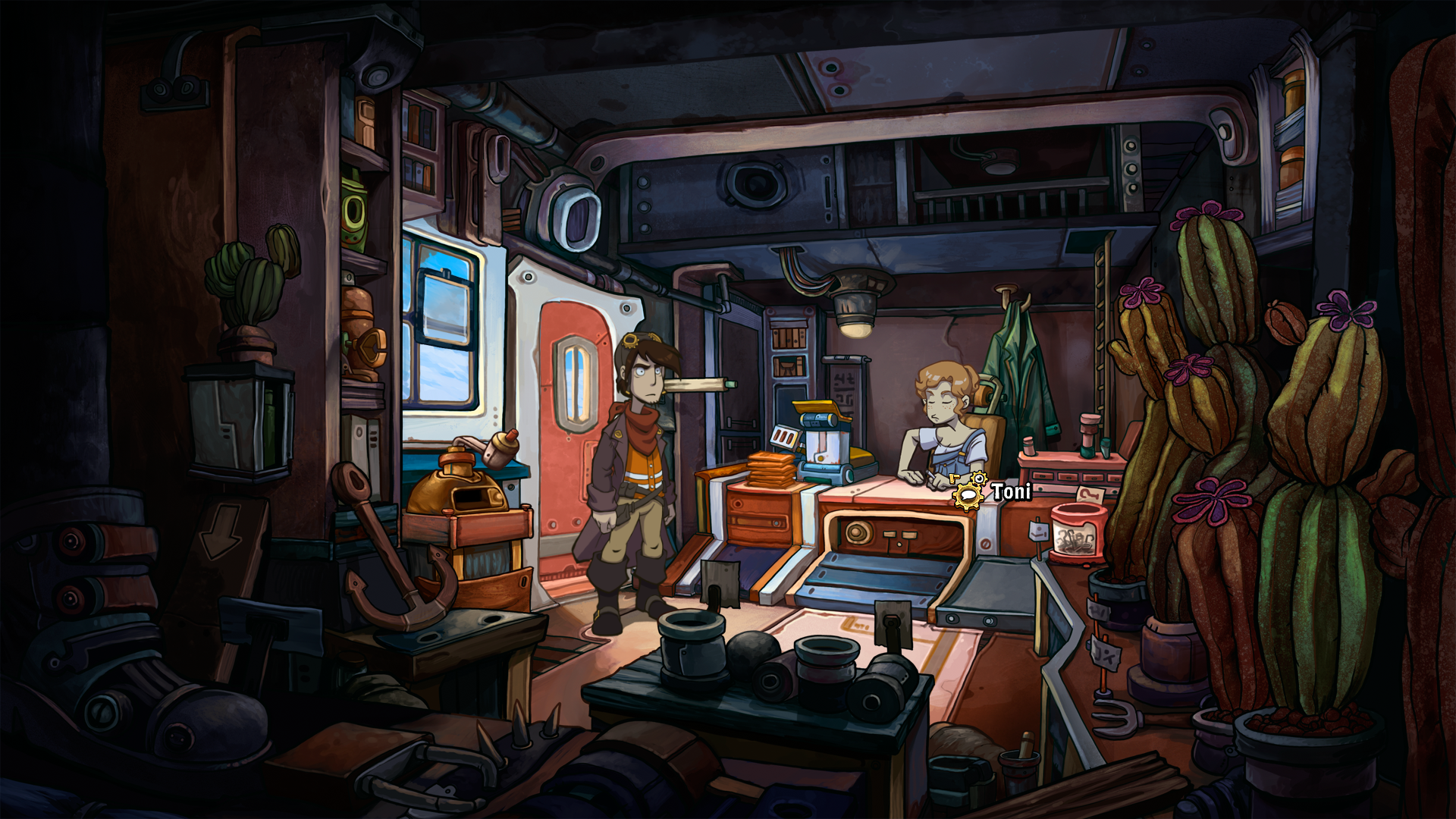 Deponia Windows This is Toni, Rufus'ex
