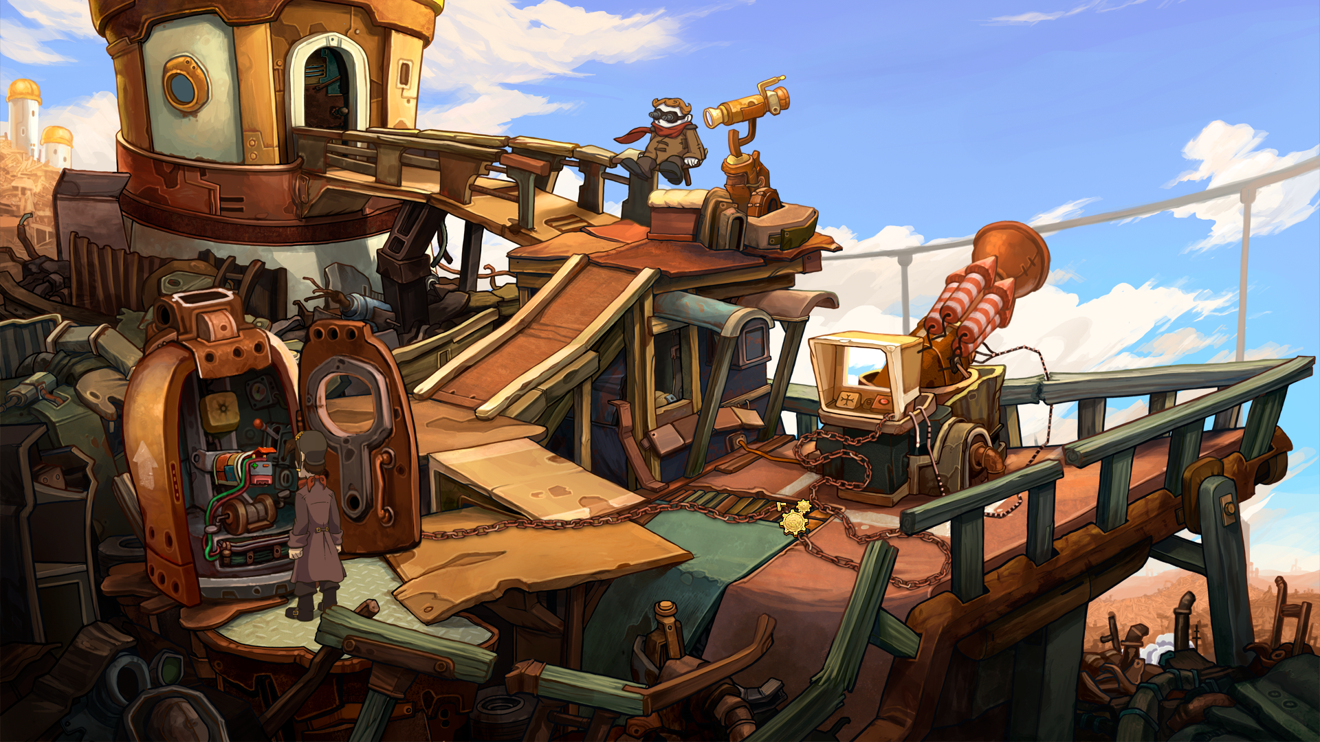 Deponia Windows What could possibly go wrong?
