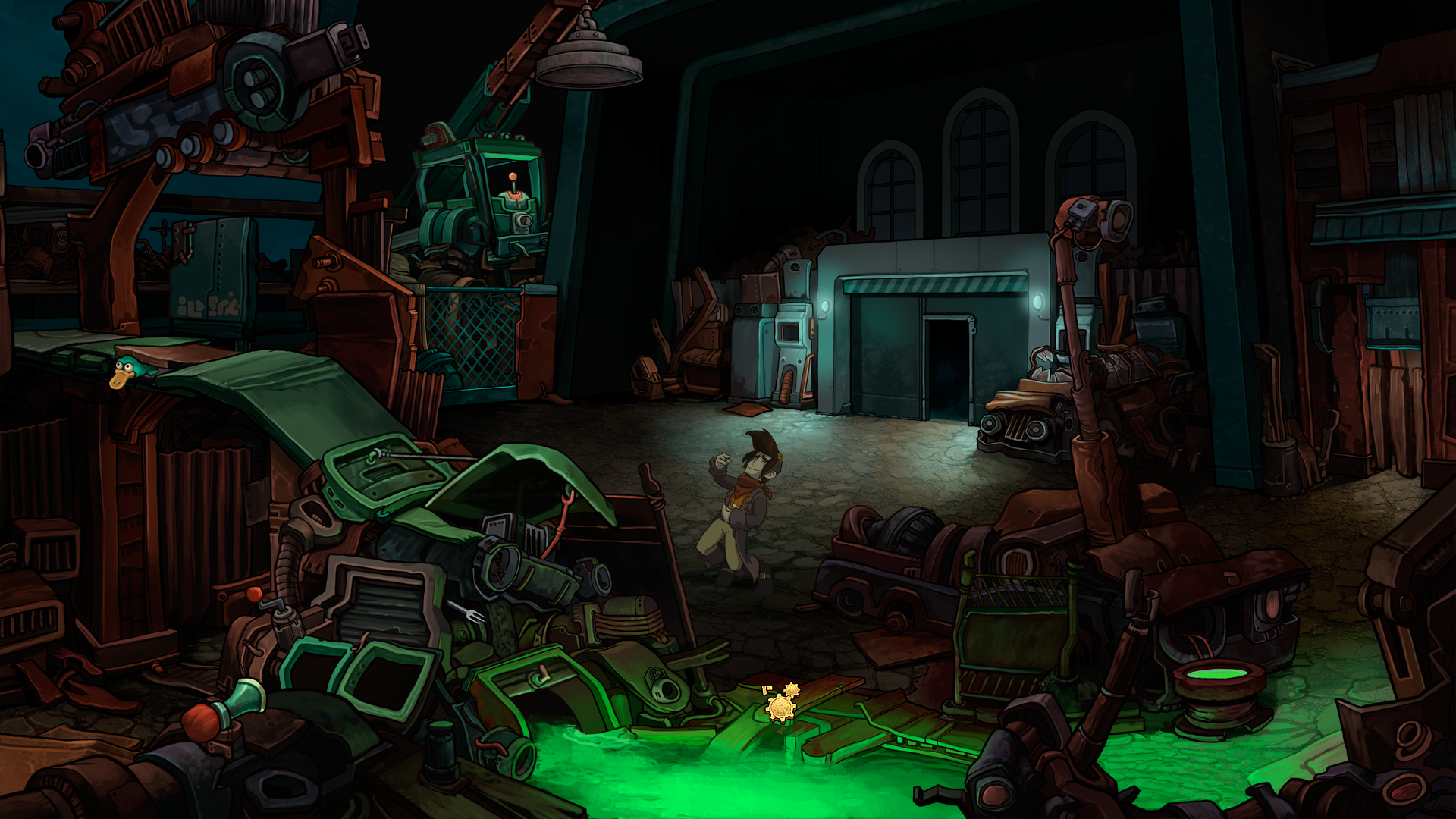 Deponia Windows Rufus plays air guitar if you do nothing for a few seconds