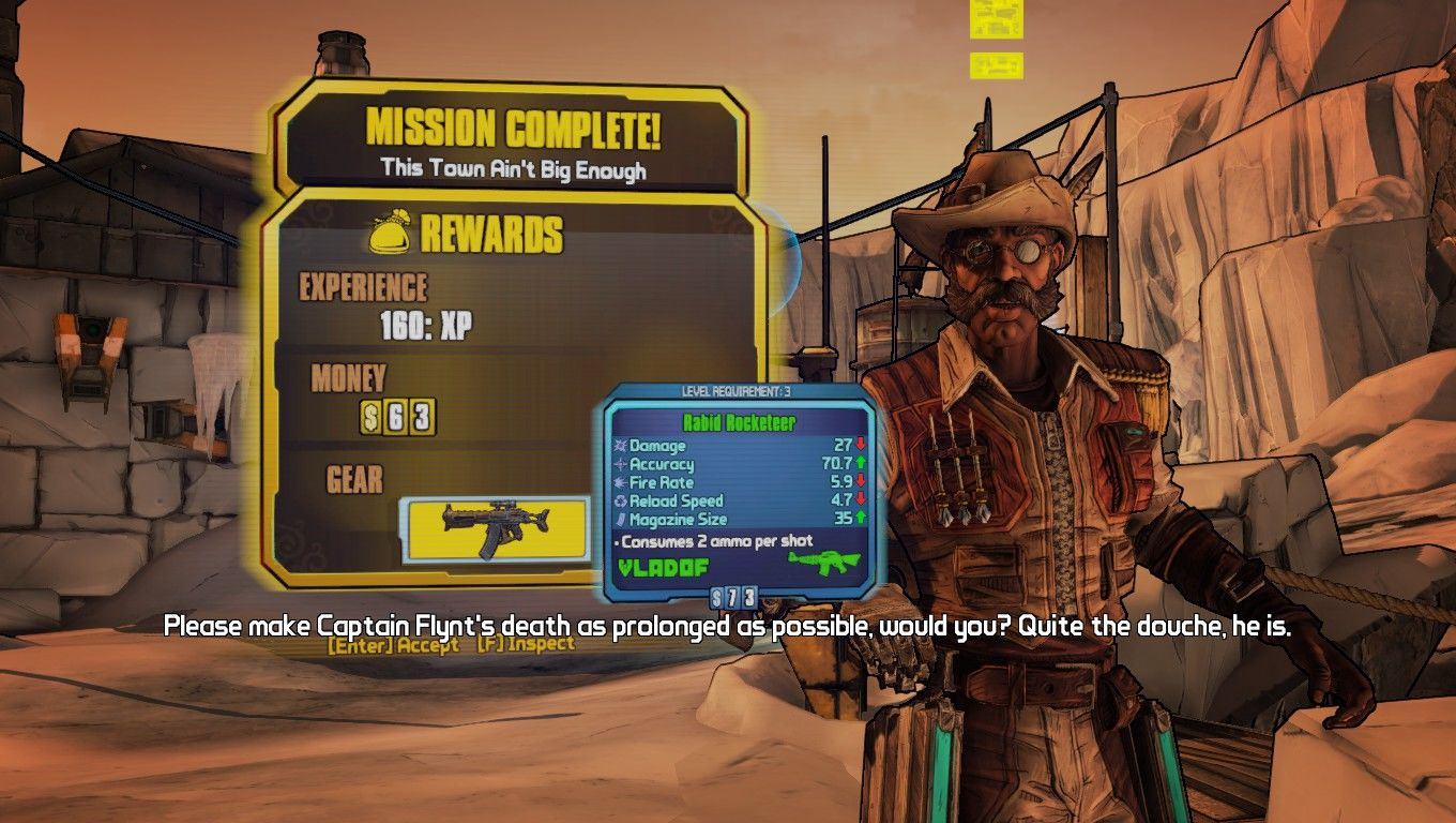 Borderlands 2 Windows NPC's actually have voices now