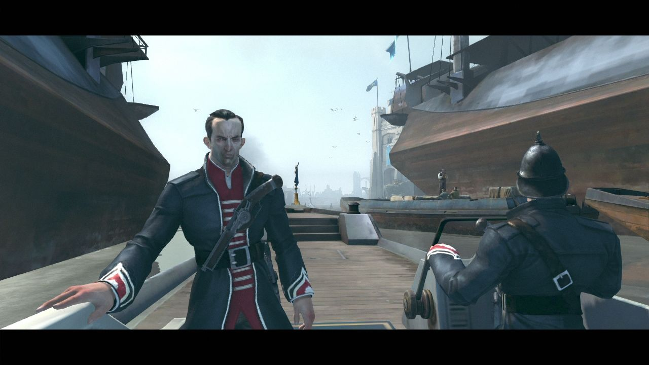 Dishonored PlayStation 3 Starting a new game.