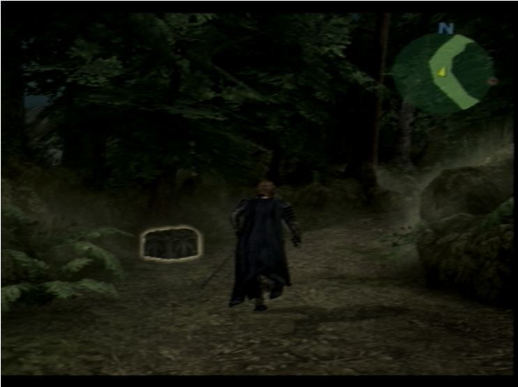 The Lord of the Rings: The Third Age PlayStation 2 Chests helpfully glow for a few seconds.