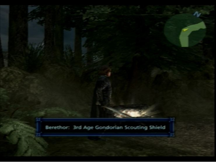 The Lord of the Rings: The Third Age PlayStation 2 Visual weapons and armour are a huge draw of the game.