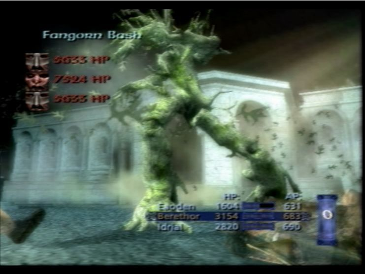 The Lord of the Rings: The Third Age PlayStation 2 Total Wipe-out.  Thanks Tree Man!