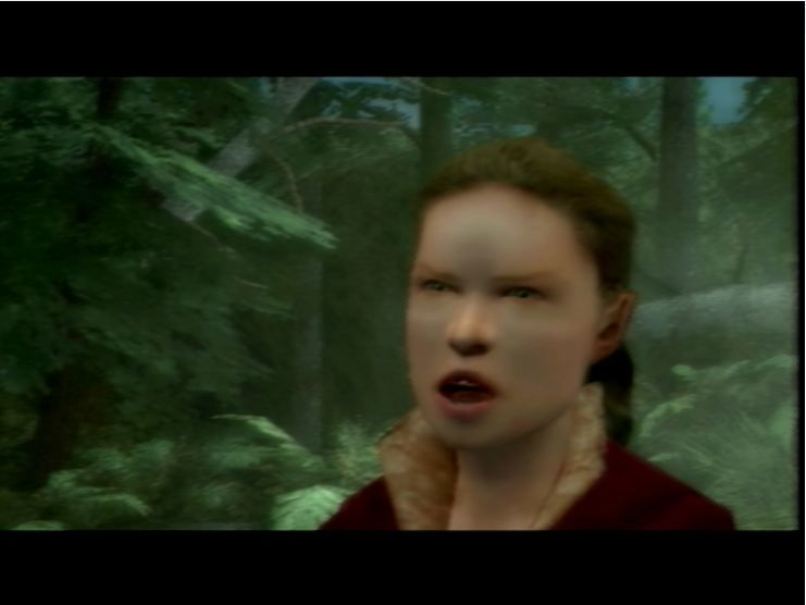 The Lord of the Rings: The Third Age PlayStation 2 It's a one of those rare Bland Elves!