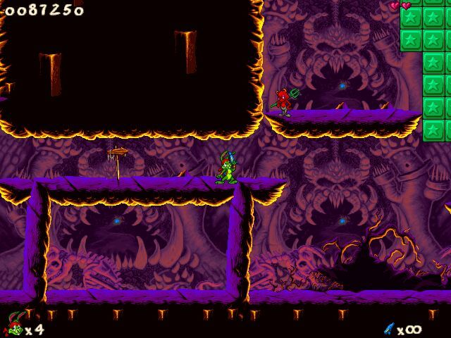 Jazz Jackrabbit 2 Windows ...to hell :)