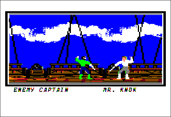 Sid Meier's Pirates! Apple II Swashbuckling pirate!