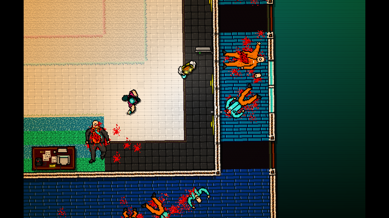 Hotline Miami Windows Boss fight