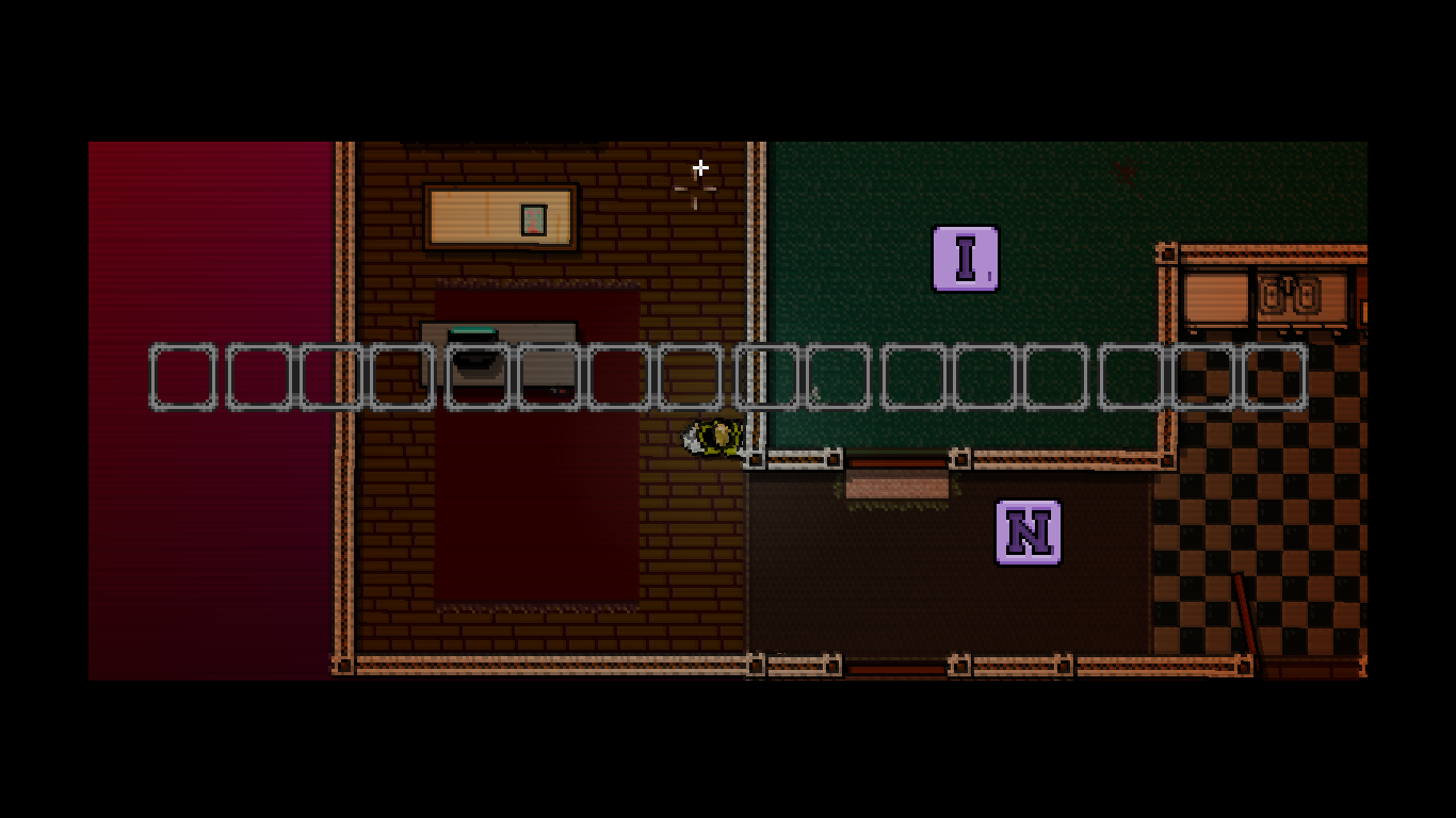 Hotline Miami Windows Once you find some letters the puzzle can be arranged.