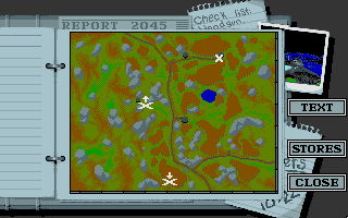 Battle Command DOS Briefing MAP (VGA 256 color)