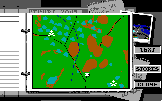 Battle Command DOS Briefing MAP (EGA/Tandy)