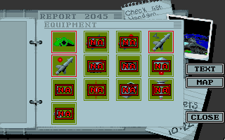 Battle Command DOS Equipment (VGA 256 color)