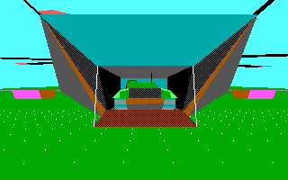 Battle Command DOS Tank landing (EGA)