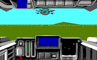 Battle Command DOS Start Mission (EGA)