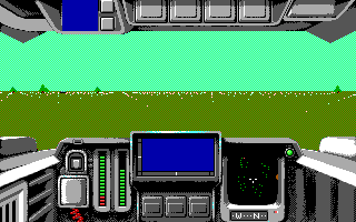 Battle Command DOS Start Mission (Tandy)