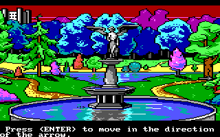Manhunter: New York DOS In the park