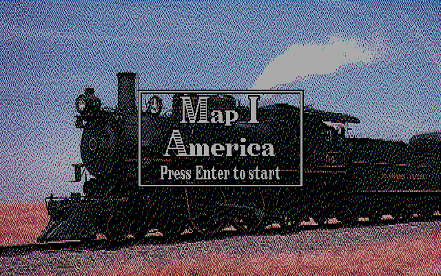 Railroad Empire DOS Map I America