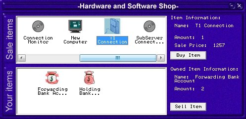 Hacker Windows Hardware and Software Shop
