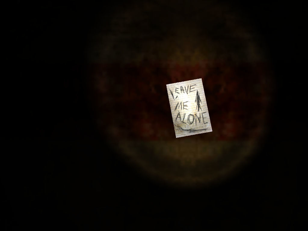Slender: The Eight Pages Windows Found the first page.