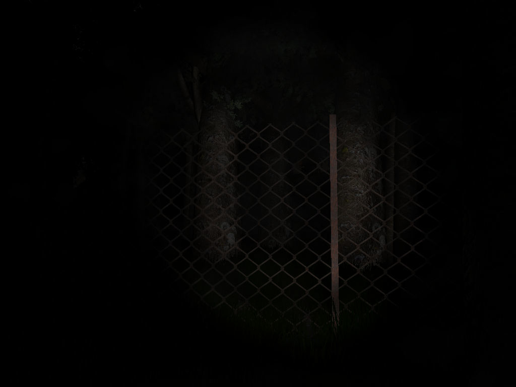 Slender: The Eight Pages Windows A fence surrounds the game area.