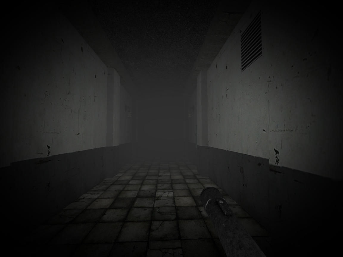 Slender's Woods Windows Down in the underground tunnels