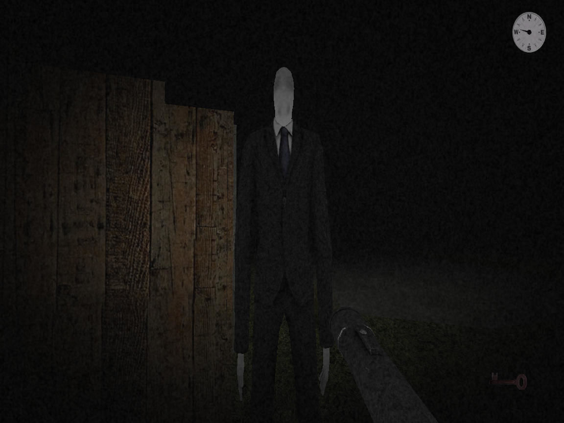 Slender's Woods Windows Slender Man is about to catch me.