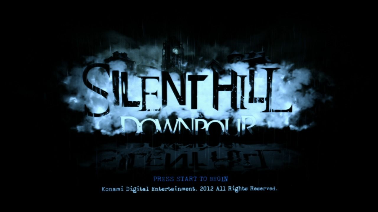 Silent Hill: Downpour PlayStation 3 Title screen