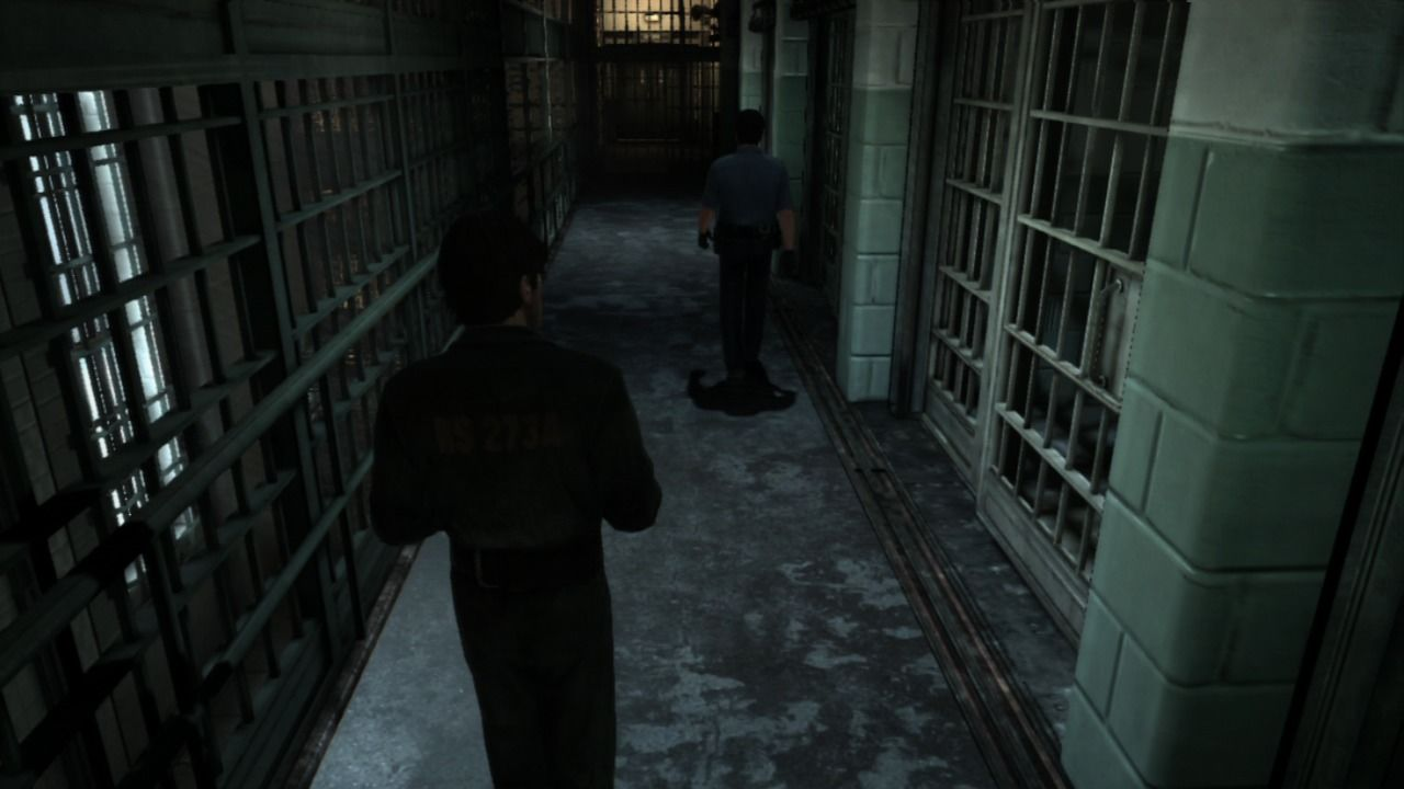 Silent Hill: Downpour PlayStation 3 Leaving the prison.