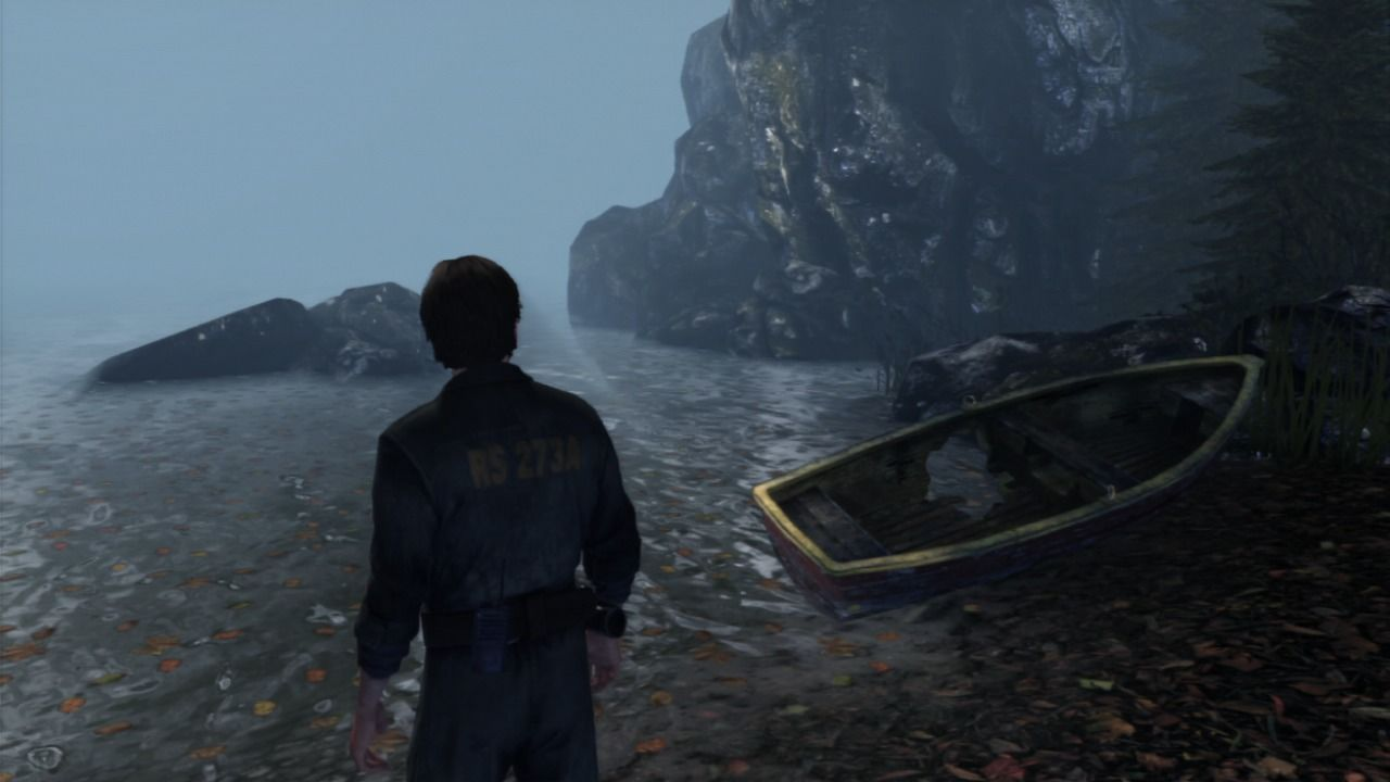 Silent Hill: Downpour PlayStation 3 I guess rowing away to freedom is out of the option.