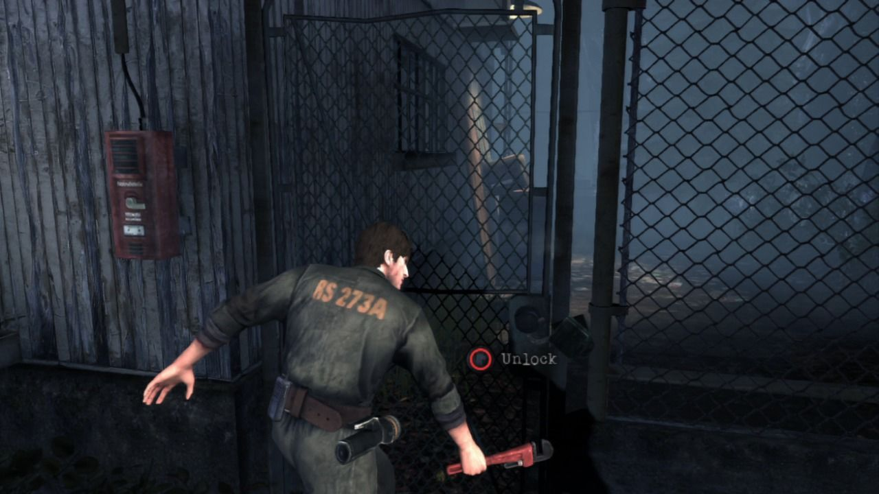 Silent Hill: Downpour PlayStation 3 There are more ways to unlock the door.