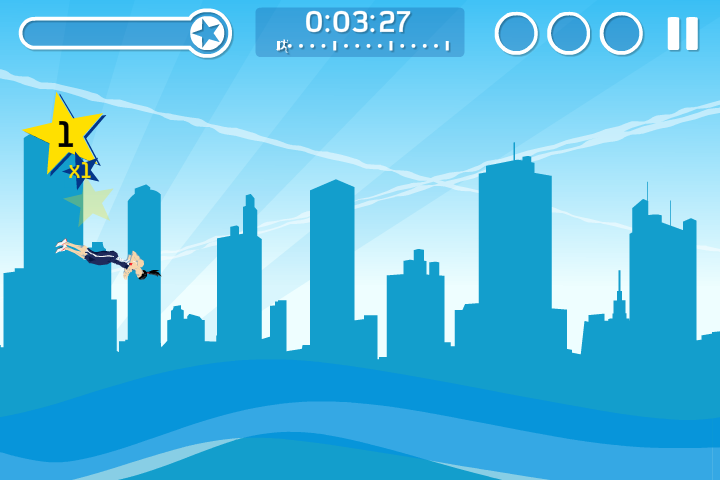 Freedom City Runners Browser You can spin while in the air...