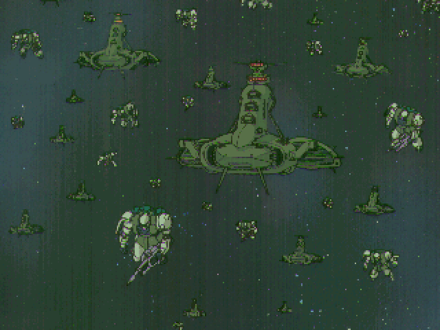Mobile Suit Gundam: Hyper Classic Operation FM Towns Intro to the campaign mode