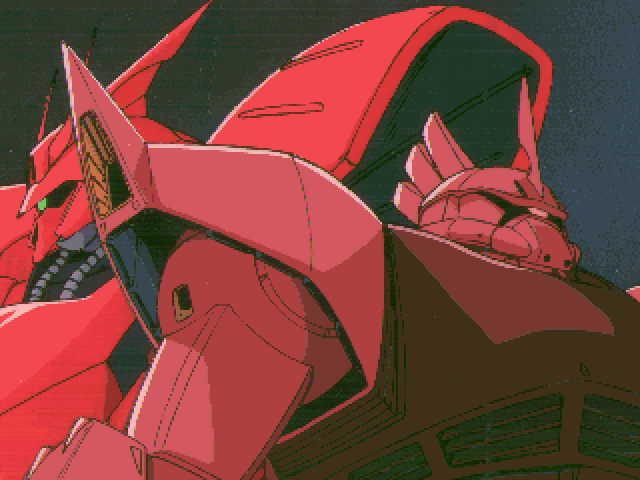 Mobile Suit Gundam: Hyper Desert Operation FM Towns ...and the red ones. Earth vs. Zeon. The eternal struggle