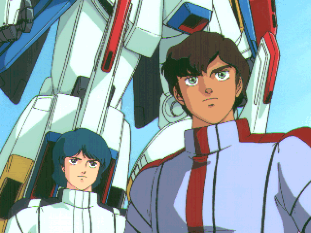 Mobile Suit Gundam: Hyper Desert Operation FM Towns Characters play little to no role here