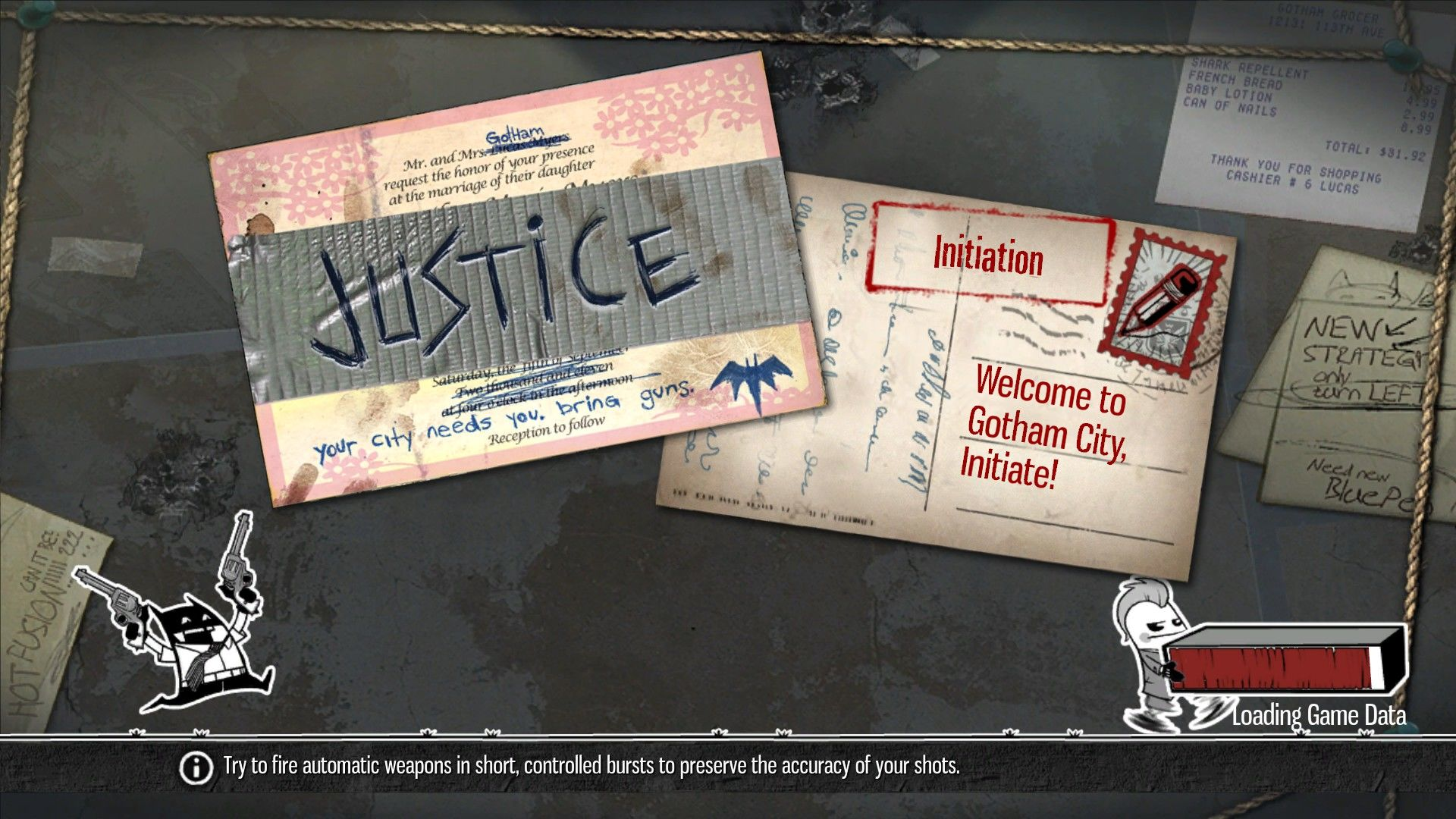 Gotham City Impostors Windows The loading screens are very cool