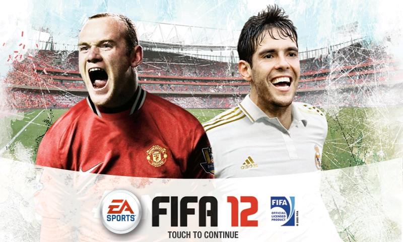 FIFA 12 Android Title screen