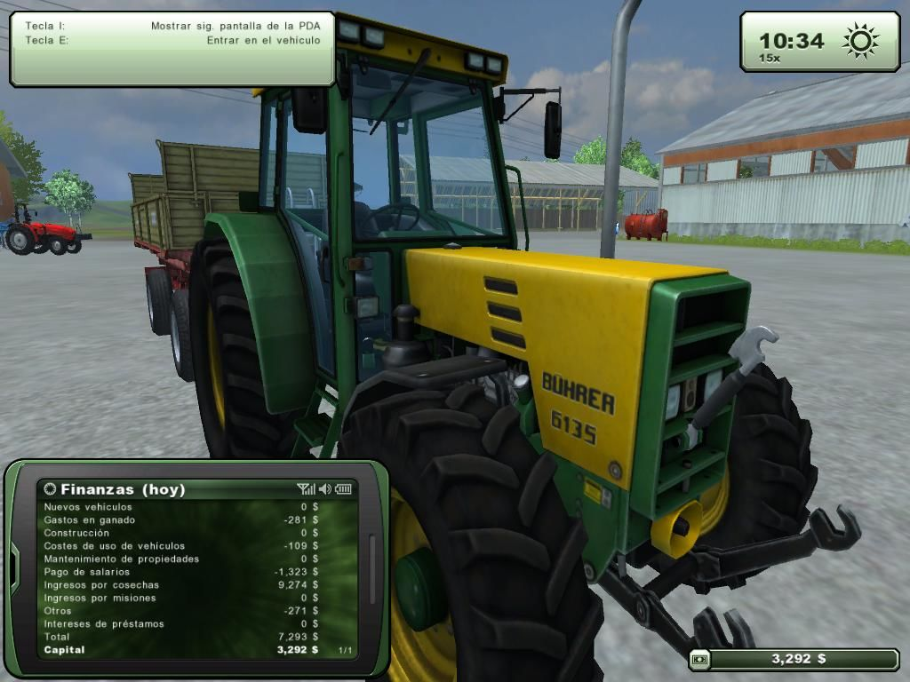Farming Simulator 2013 Windows Tractor BÜHRER 6135